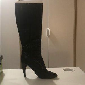 Sam Edelman Boots black boa